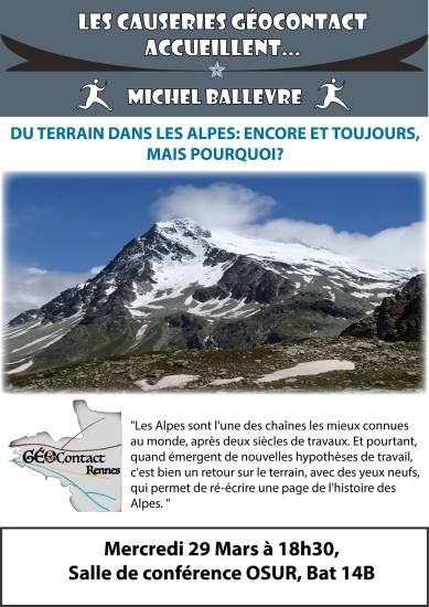 Causerie n°3 - Michel Ballèvre